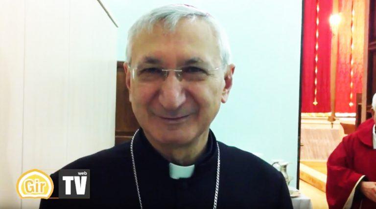 """S.E. Monsignor Filippo Santoro, Arcivescovo Metropolita di Taranto: """"Buon cammino quaresimale a tutti"""""""