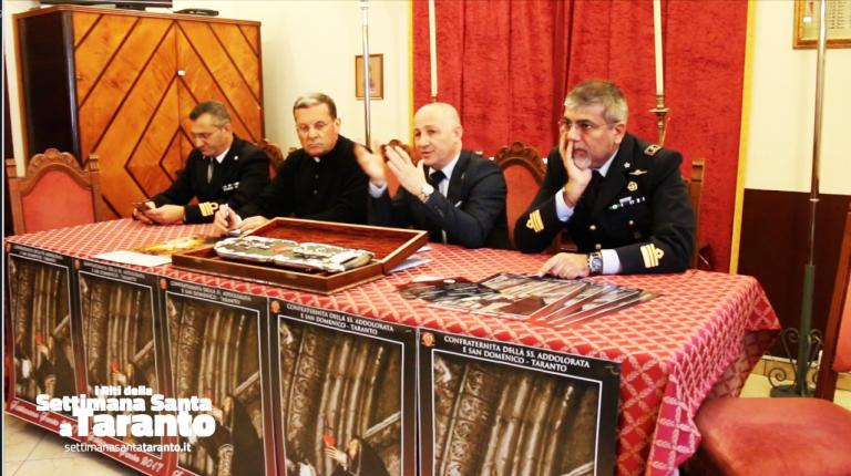 VIDEO. La Confraternita della SS Addolorata e San Domenico presenta la Settimana di Passione e la Settimana Santa 2017