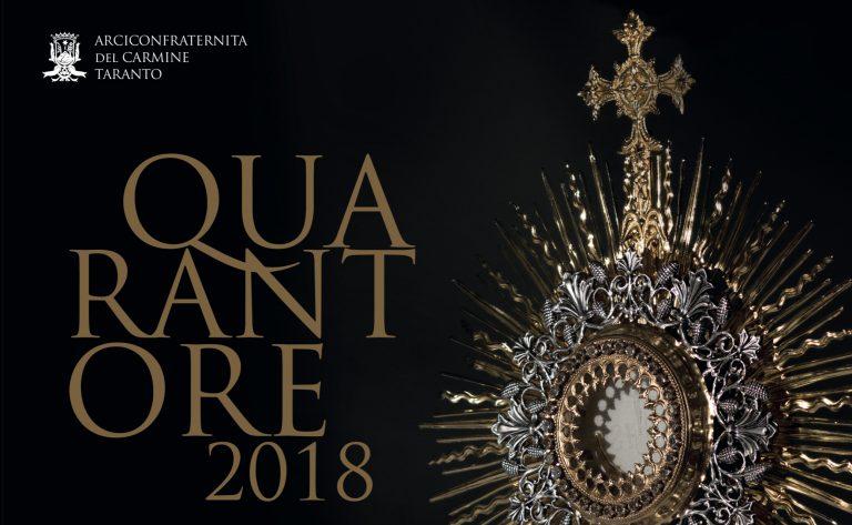 L'Arciconfraternita del Carmine si prepara alla Quaresima: lunedì iniziano le Quarantore