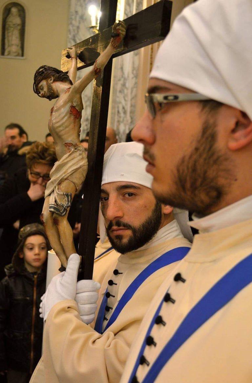 Domenica Quarta Via Crucis nella Chiesa del Carmine. Settimana Santa a Taranto 2019