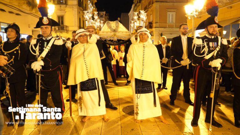 Gesù Morto. Processione dei Misteri 2019. Settimana Santa Taranto