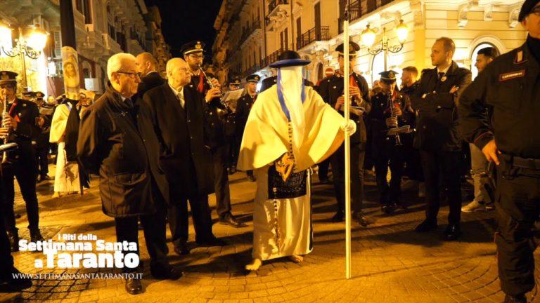 La troccola. Venerdì Santo, Settimana Santa 2019 a Taranto