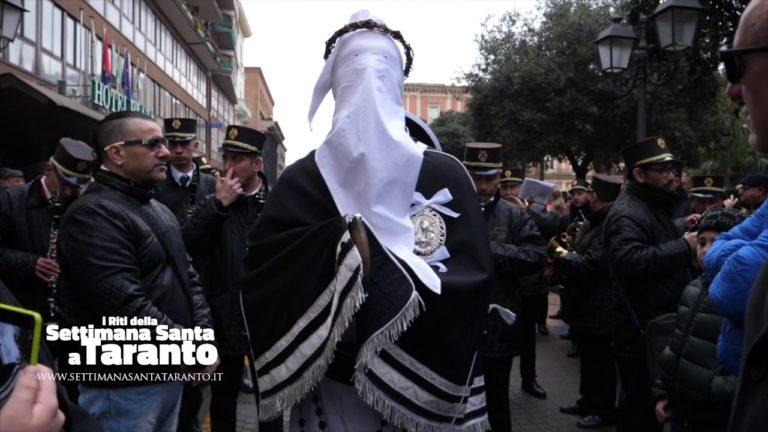 Croce, Troccolante e la marcia dedicata alla Mamma. Settimana Santa Taranto 2018