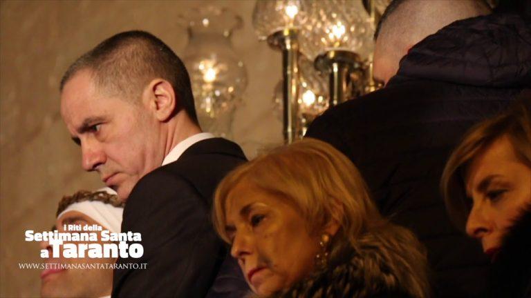 A Gravame. La Mamma è sul ballatoio di San Domenico. Settimana Santa 2018 Taranto