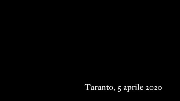 Taranto, 5 aprile 2020. Domenica delle Palme